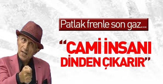 Yaşar Nuri Öztürk: Cami insanı dinden imamdan çıkarır...