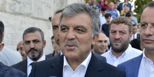 Abdullah Gül'ün adı silindi mi?