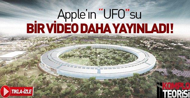 """Apple'ın """"UFO""""su görüntülendi"""