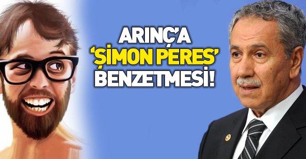 "Arınç'a ""Şimon Peres"" benzetmesi"