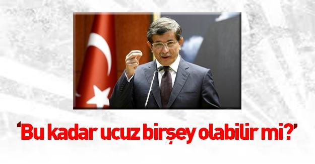 Davutoğlu'ndan Selahattin Demirtaş'a sert cevap!