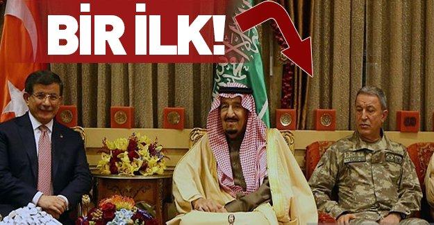 Davutoğlu'nun Riyad heyetinde bir ilk!