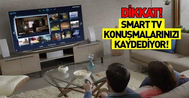 Dikkat! Samsung Smart Tv'ler konuşmalarınızı kaydedip servis ediyor!