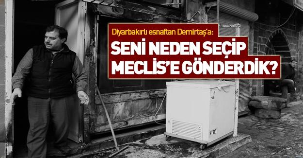 Diyarbakırlı halk Demirtaş'a seslendi: 'Gelsin buraya...!