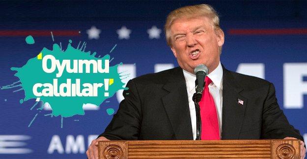 Donald Trump: Oylarımı çaldılar