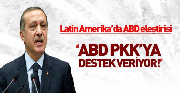 Erdoğan'dan Latin Amerika'da ABD'ye sert tepki gösterdi!