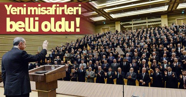 Erdoğan'dan yeni konukları belli oldu!