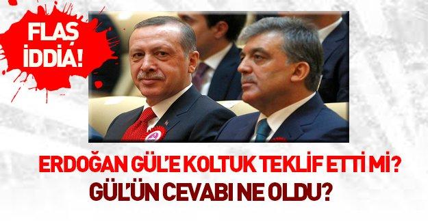 Erdoğan - Gül görüşmesinde flaş iddialar!