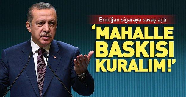 Erdoğan: Milletçe bir seferberlik başlatmalıyız