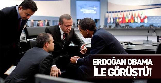 Erdoğan-Obama görüşmesi gerçekleşti!