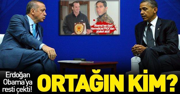 Erdoğan Obama'ya rest çekti!