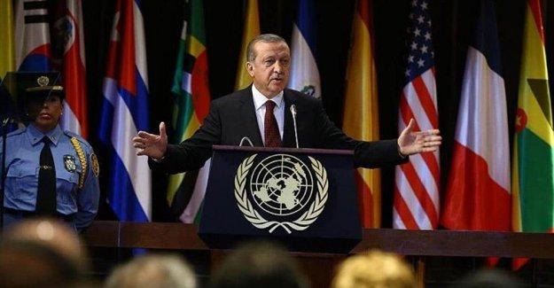 Erdoğan: Suriye'nin kuzeyinde bir şehir kuralım