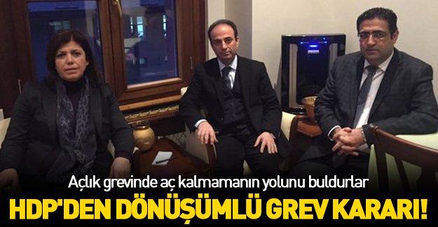 HDP'den nöbetleşe açlık grevi kararı