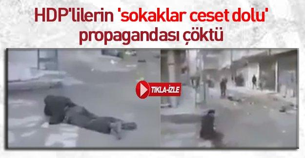 HDP'nin büyük yalanını çökerten görüntüler