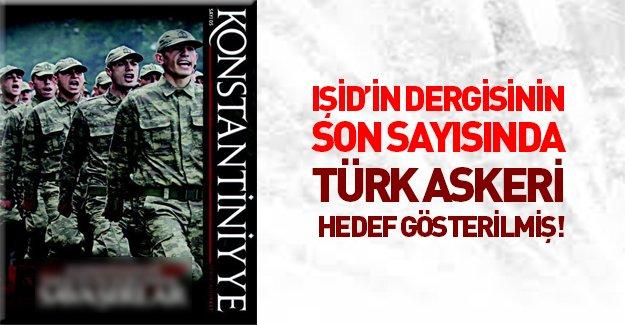 IŞİD Türk askerini hedef gösterilmiş!
