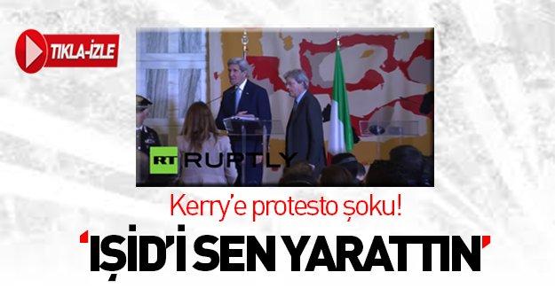 John Kerry'ye protesto şoku