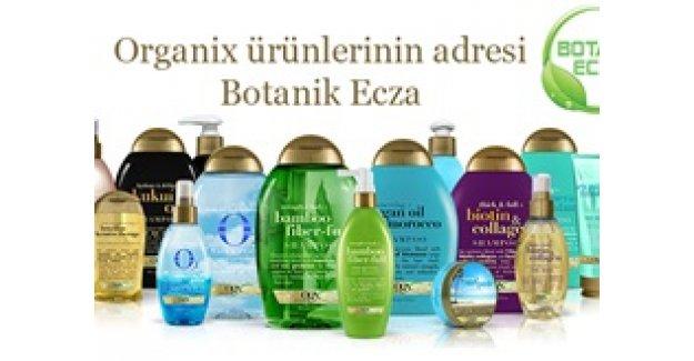 Kesenize en uygun Organix ürünleri yalnızca Botanik Ecza'da!