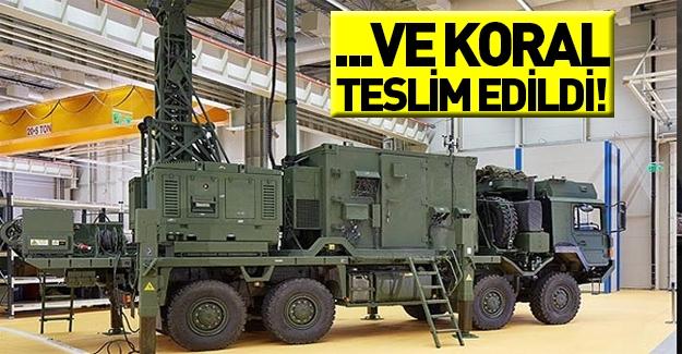 Düşmanın korkulu rüyası KORAL sistemi TSK'ya teslim edildi!