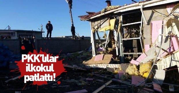 PKK ilkokul patlattı!