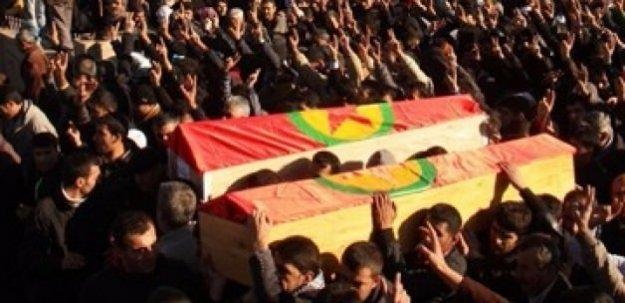 PKK yöneticisini tabuta koyup kaçırmak istediler!
