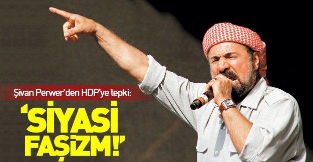 Şivan Perwer'den HDP'ye tepki!