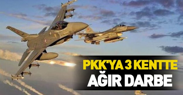 TSK Kandil'i vurdu! PKK'ya ağır darbe