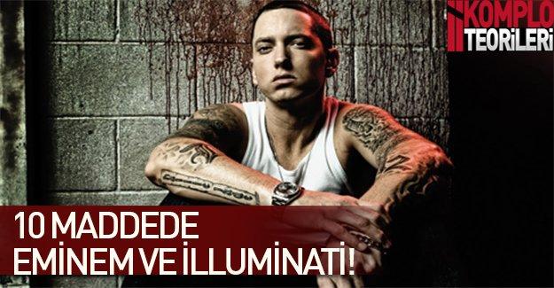 10 maddede İlluminati ve Eminem