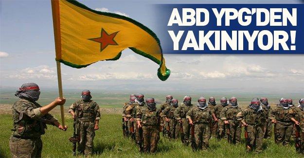 ABD YPG'den şikayetçi!