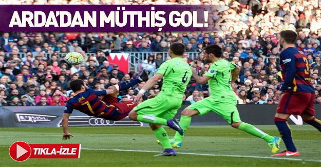 Arda Turan'dan muhteşem gol!