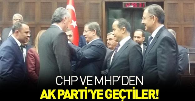 CHP'den 2, MHP'den 1 belediye başkanı AK Parti'ye geçti!
