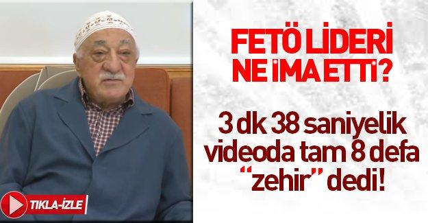 """Fethullah Gülen: """"Farkına varmadan öyle zehirlenirler ki..."""""""