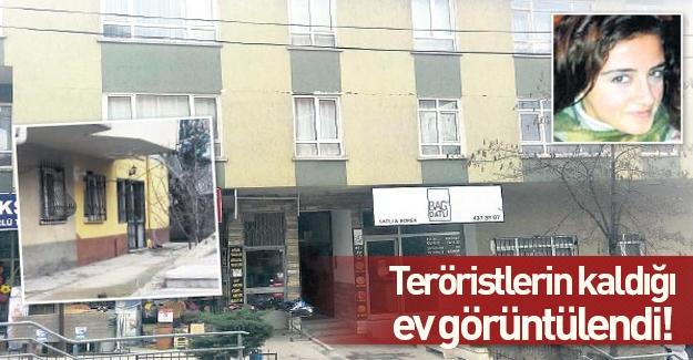 PKK'lı teröristler Ankara'da bu evde kalmışlar