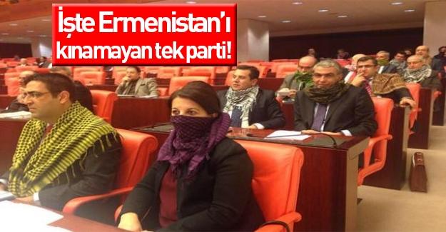 3 partiden Ermenistan'ı kınama bildirisi