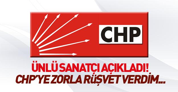 'CHP'li belediyeye tehditle ve zorla 1 buçuk milyon TL rüşvet verdim'