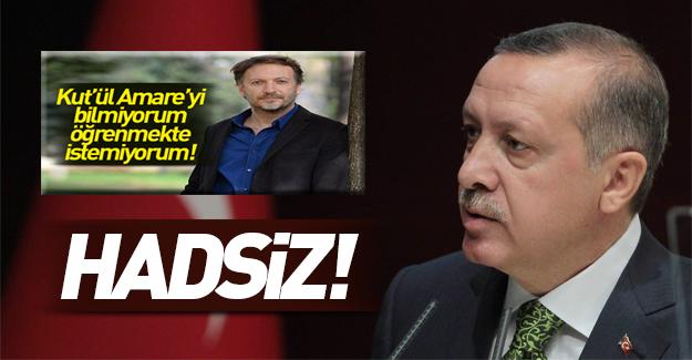 Erdoğan'dan İngiliz Mirgün'e Kut'ül Amare tepkisi!