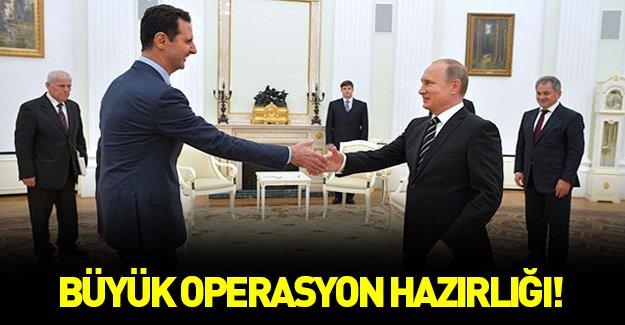 Esad ve Putin'den büyük operasyon hazırlığı