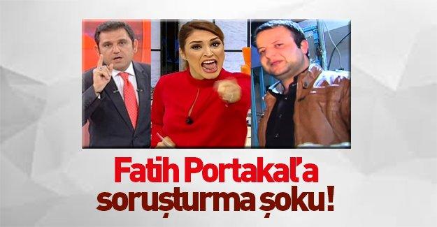 Fatih Portakal'a soruşturma şoku!
