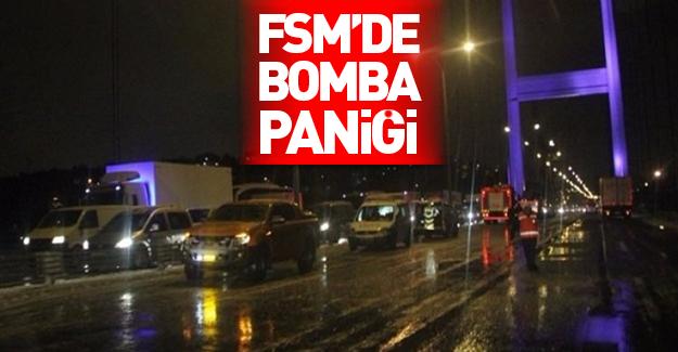 Fatih Sultan Mehmet Köprüsü'nde bomba bulundu