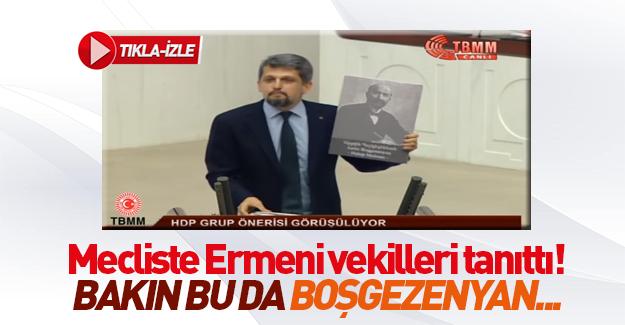 HDP'li Paylan Ermeni mebuslar için iadei itibar istedi