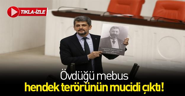 HDP'li Paylan terörist Vramyan'ı övdü
