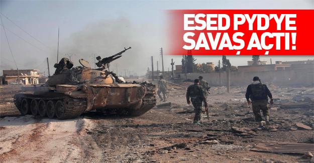 Kamışlı'da Esed-YPG çatışması