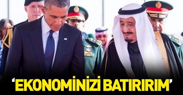 Kral Selman ABD'ye resti Ankara'dan çekti: Ekonominiz batar