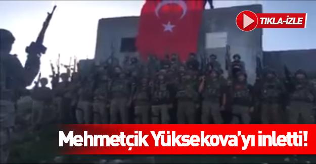 Mehmetçik Yüksekova'yı inletti!