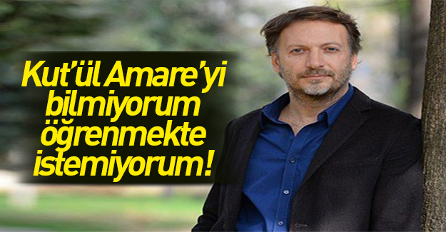 Mirgün Cabas: Kut'ül Amare'yi öğrenmeyeceğim