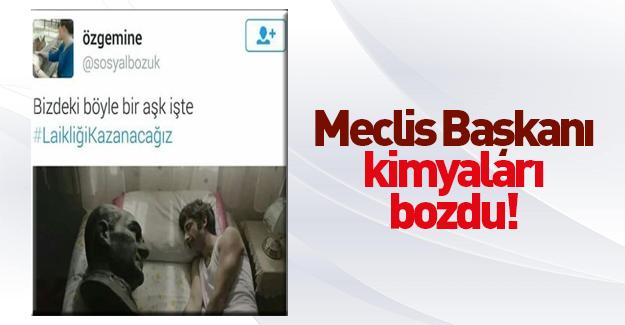 Mustafa Kemal'le uyuyan adam paylaşımı