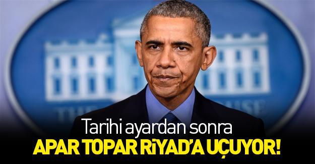 Obama'dan Arabistan'a 750 milyar dolarlık ziyaret