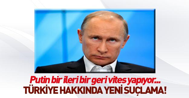 Putin'den Türkiye iddiası!
