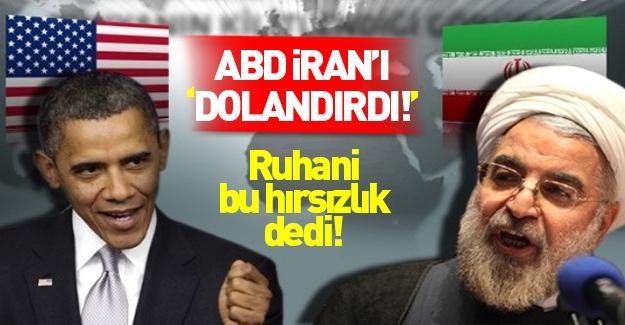 Ruhani: Amerika 2 milyar dolarımızı çaldı