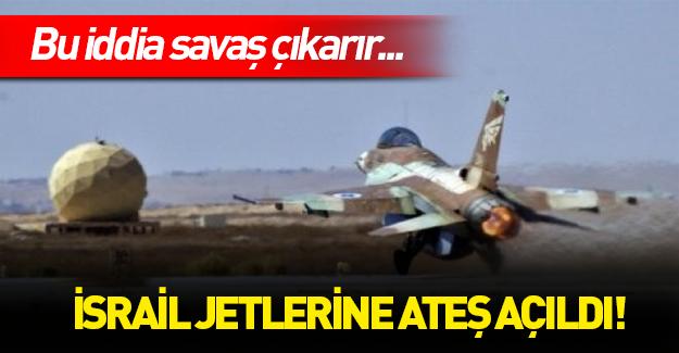 İsrail uçağına ateş açıldı mı?