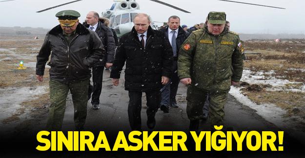 Rusya sınıra asker yığıyor!